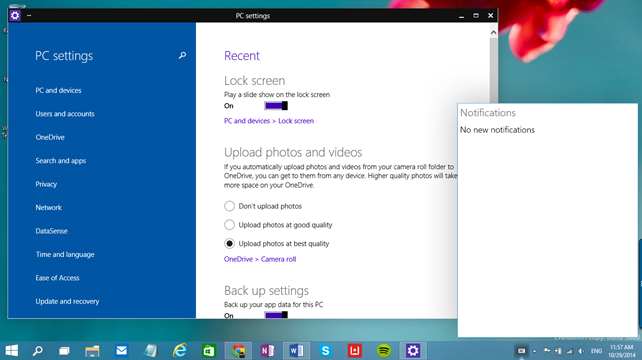 Τι νέο φέρνει το build 9860 των Windows 10