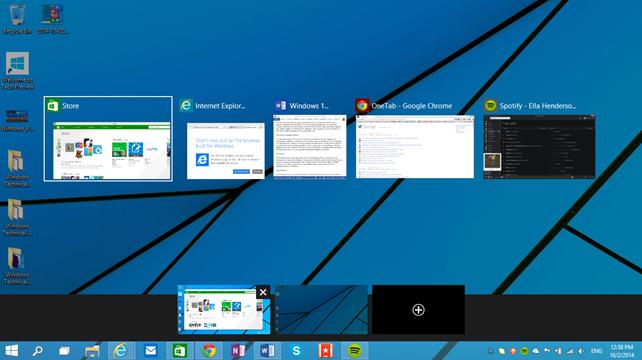 10 νέα χαρακτηριστικά των Windows 10 Technical Preview