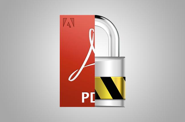 Περιορισμοί και ρυθμίσεις ασφαλείας σε PDF