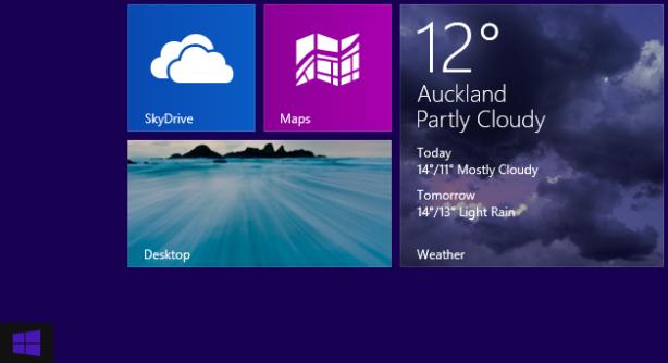 Μετάβαση στο desktop με το κλείσιμο εφαρμογών στα Windows 8.1
