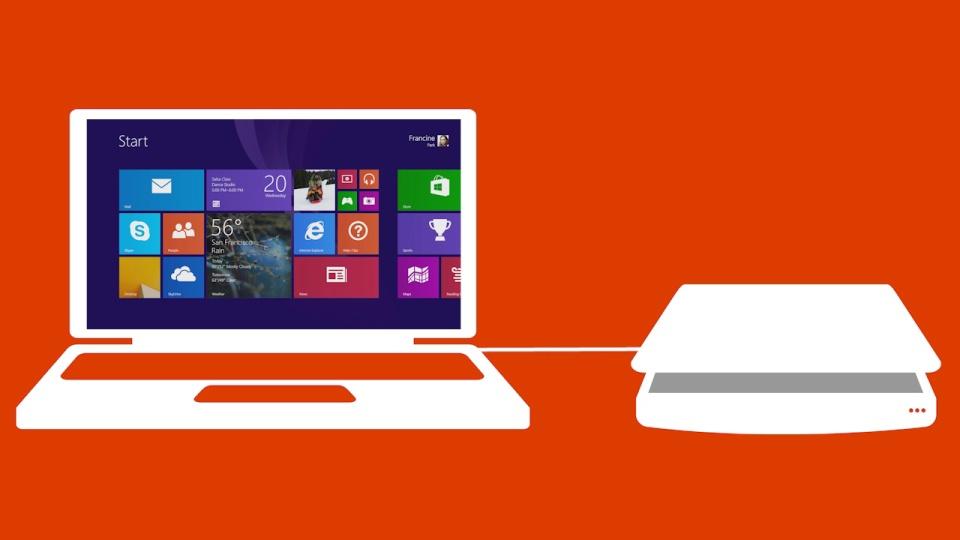 Σκανάρισμα φωτογραφιών και εγγράφων στα Windows 8.1