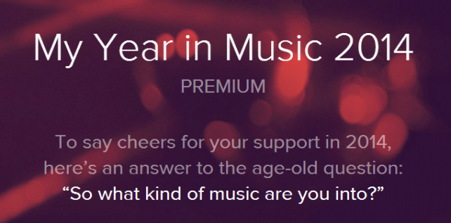Spotify Year In Music 2014, τι άκουγες μέσα στη χρονιά;