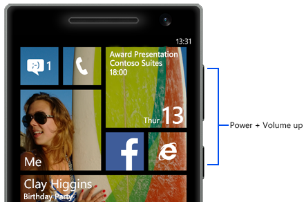Screenshots στα Windows Phone 8.1, πώς γίνεται