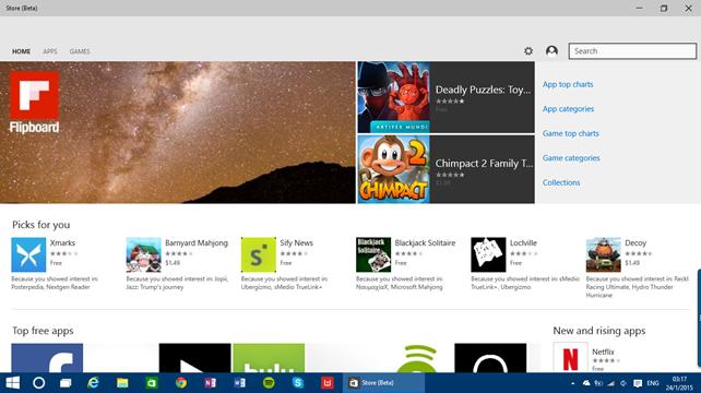 Τα Windows 10 build 9926 σε εικόνες [Visual Tour]