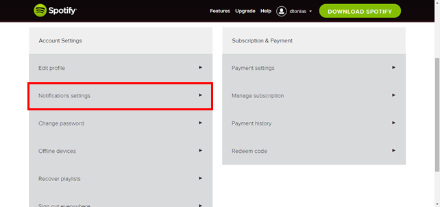Επιλέξτε ποια e-mails θα δέχεστε από το Spotify