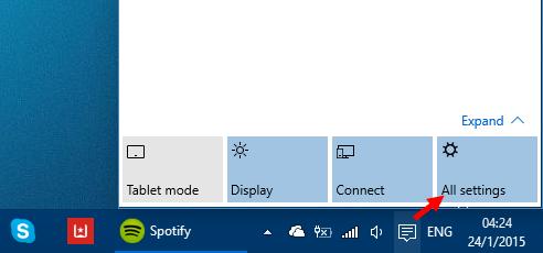 Ενεργοποίηση της Cortana για Ελλάδα στα Windows 10 build 9926