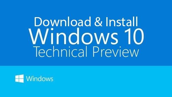 Εγκατάσταση και αναβάθμιση στα Windows 10 build 9926