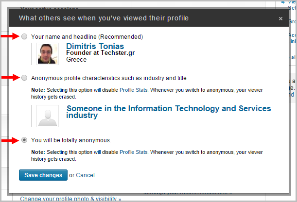 Ποιος βλέπει το προφίλ σας στο LinkedIn