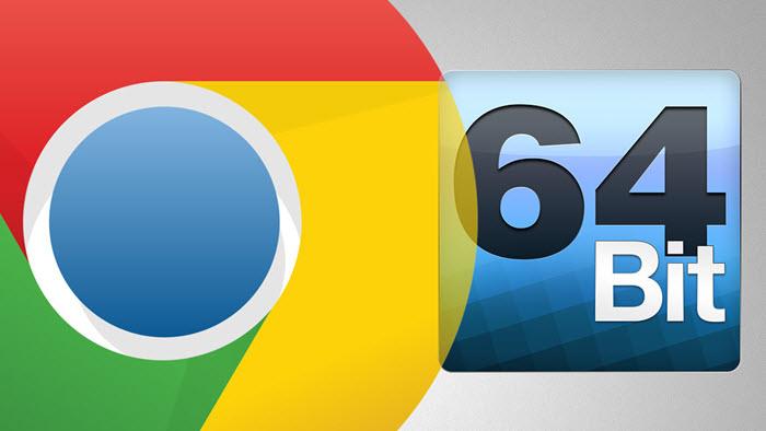 Αναβάθμιση του Google Chrome στην 64-bit έκδοση