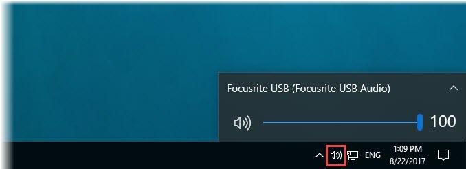 Γρήγορη εναλλαγή συσκευών ήχου στα Windows 10