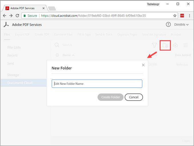 Συγχρονισμός PDF με το Adobe Reader