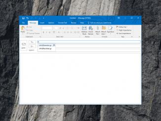 Αφαίρεση προτεινόμενων email από το autocomplete του Outlook