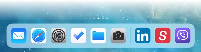 Απόκρυψη ανοικτών εφαρμογών στο dock του iPad με iOS 11