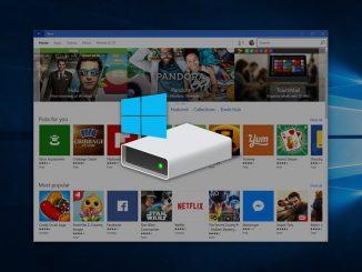 Μετακίνηση εφαρμογών σε άλλο δίσκο στα Windows 10
